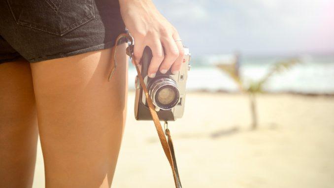 Kamera im Urlaub